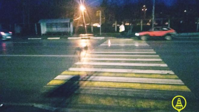 В Выборгском районе сбили пешехода прямо у здания ГИБДД