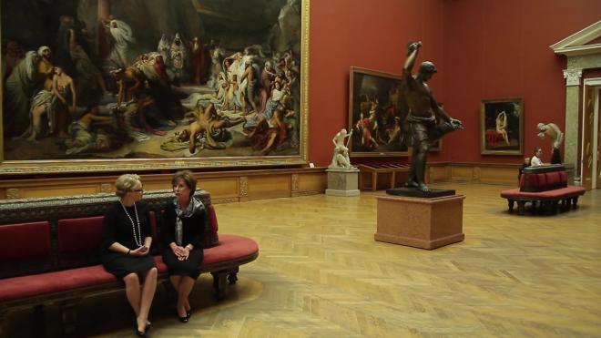 Во время пандемии онлайн-выставки Русского музея смотрели в 8 раз чаще