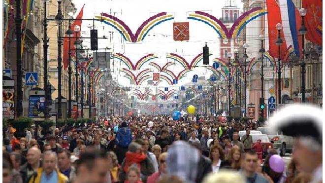 День города в Санкт-Петербурге: программа мероприятий