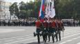 На Дворцовой отметили День Российской гвардии