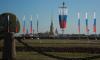 Власти Петербурга возложили цветы к Медному всаднику в честь Дня города