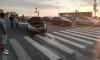 Страшное ДТП на мосту Кадырова: белая иномарка выскочила на желтый