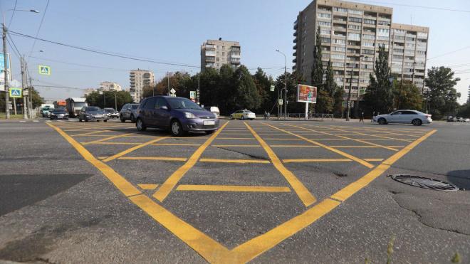 """На петербургской дороге появится новая """"вафля"""""""