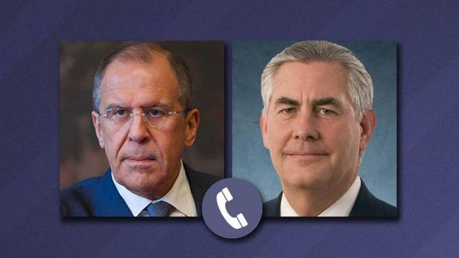 Лавров и Тиллерсон обсудили усиление борьбы с боевиками в Сирии
