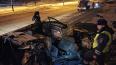 В Кузбассе 3 парня погибли в ДТП, протаранив рекламный ...