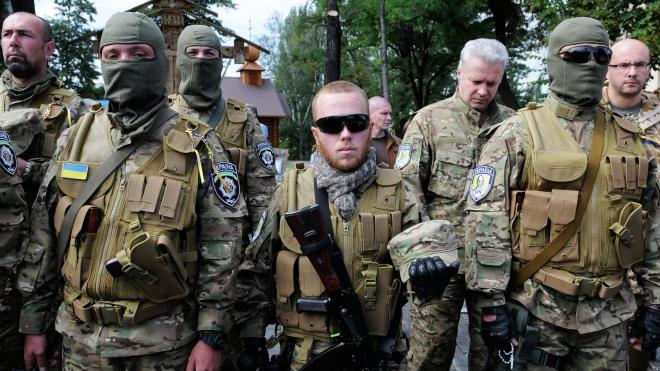 """Украина возвращает в Донбасс карательный батальон """"Айдар"""""""
