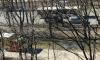 На Будапештской кипяток из поврежденной трубы грозит залить автомобили