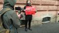 Возле консульства Турции в Петербурге задержали пикетчик...