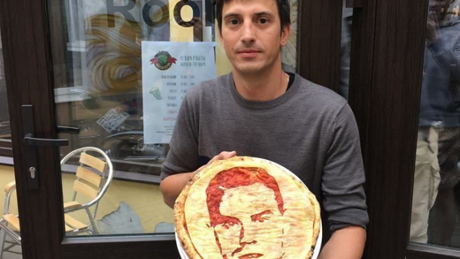 Игоря Акинфеева увековечили на пицце