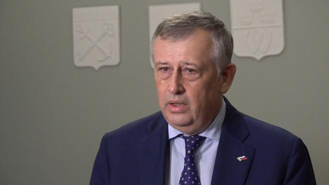 Александр Дрозденко ответил на претензии Эстонии к России