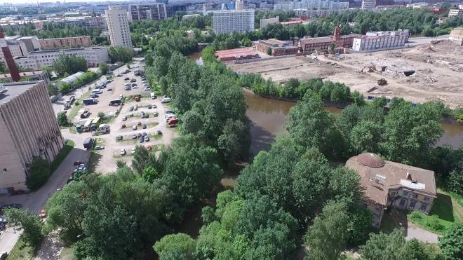 Проектировщик показал, как могут преобразиться набережные рек Охты и Оккервиль