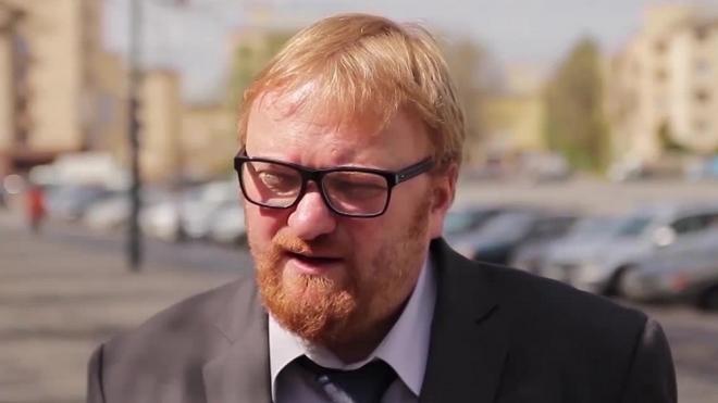 Виталий Милонов боится, что за ним приедут гей-активисты из США