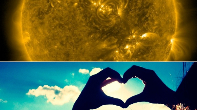 У Солнца появилось темное сердце