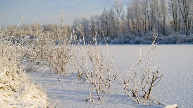 На Сахалине Toyota Land Cruiser с рыбаками ушла под лед