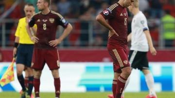 Сборная России терпит первое поражение на Евро