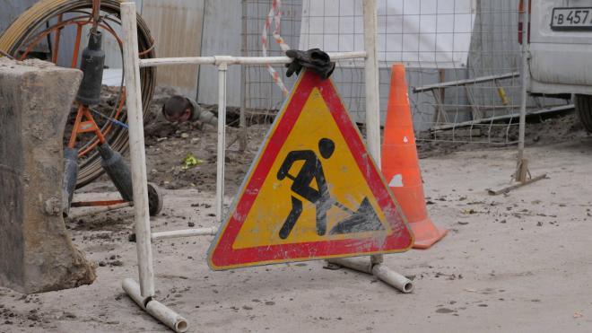 Участок Петергофского шоссе отремонтировали