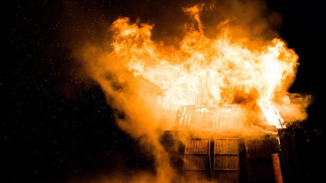 Житель Колпино погиб по время пожара в Тосно