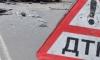 На Киевском шоссе водитель самосвала отключился и врезался в отбойник