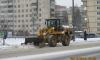 С начала зимы на улицы Петербурга высыпали 40 тонн гранитной крошки
