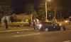 В ночной аварии на Выборгском шоссе пострадали двое