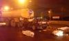 Трое петербуржцев погибли в девятке, врезавшейся в поливальный КамАЗ