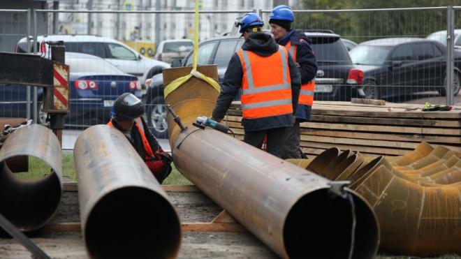 Во Фрунзенском районе Петербурга продолжают модернизировать тепломагистрали