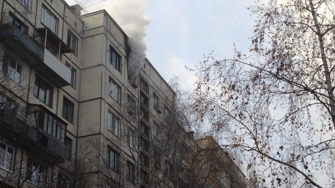 Пожар в квартире на улице Крыленко: из огня спасли троих детей