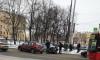 Автомобиль сбил девушку в центре Петербурга