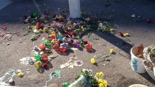 """Активисты """"Автомайдана"""" в Одессе сожгли  фотографии погибших в Доме профсоюзов"""