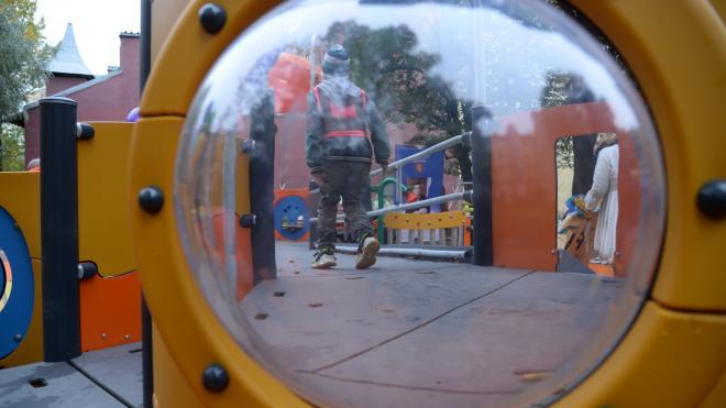 В Петроградском районе появилась новая площадка для людей с ограниченными возможностями