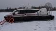На Финском заливе под лед провалился лыжник, его спасли ...