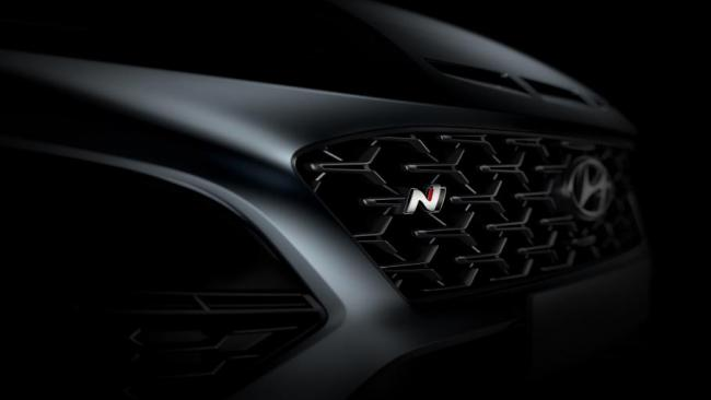 Hyundai показала дизайн нового кроссовера Kona N