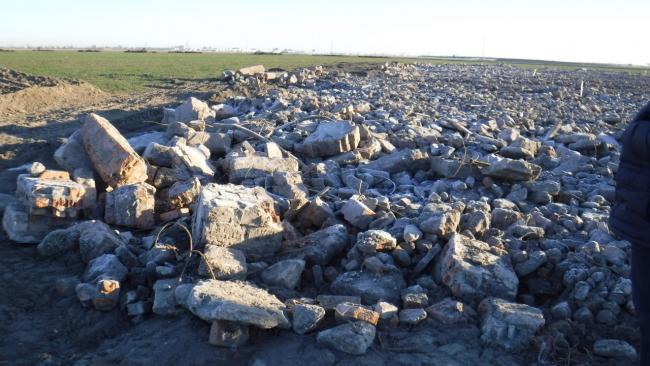 Организаторы несанкционированной свалки на Колпинском шоссе оштрафованы на 1,1 млн рублей