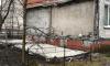 На Ново-Александровской улице от жилого дома отвалились плиты