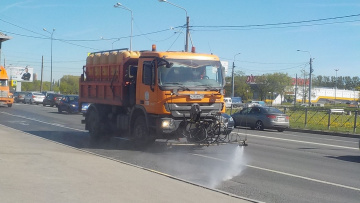 За прошедшую неделю с улиц убрали 3,1 тысяч тонн грязи