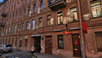 В Петербурге демонтируют балконы с исторического здания ...