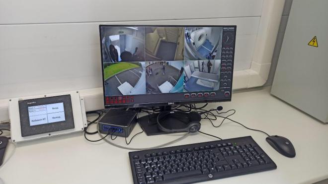 В Петербурге представили мобильные станции томографии для быстрой диагностики COVID-19