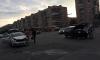 На повороте с улицы Дмитрова на Бухарестскую столкнулись две машины