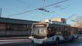 На Комендантской площади восстановлено троллейбусное ...