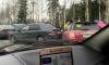 На Зеленогорском шоссе столкнулись два автомобиля