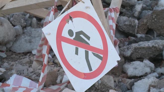 На Малой Балканской обнаружили небезопасную свалку со стройотходами