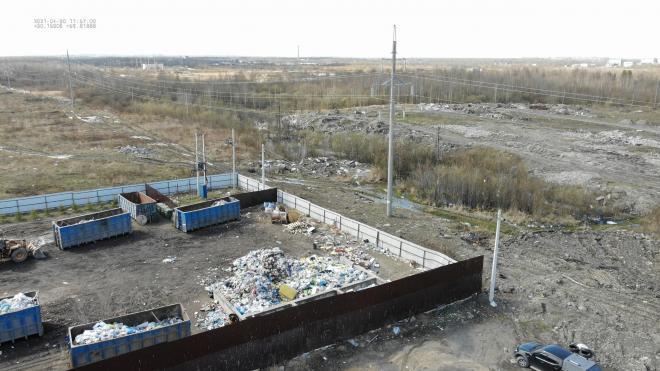 Жители Красносельского района жалуются на свалку