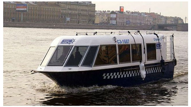 В Петербурге отменяют аквабусы