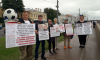 На Университетской задержали 8 активистов за пикет в поддержку Сенцова