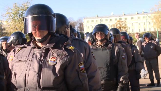 В кабинете замначальника полиции Красносельского района прошел обыск