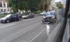 На проспекте Обуховской обороны произошло ДТП с участием двух авто