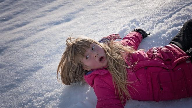 В Петербурге в больницу обратился 41 человек из-за падения на льду