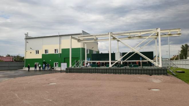 В Кировском районе готовы к запуску инновационные канализационные очистные сооружения