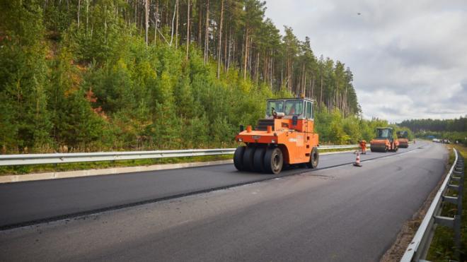 Дорожники закончили ремонт Выборгского шоссе