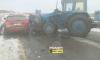 Появились жесткие фото с места ужасного ДТП с трактором в Кузбассе